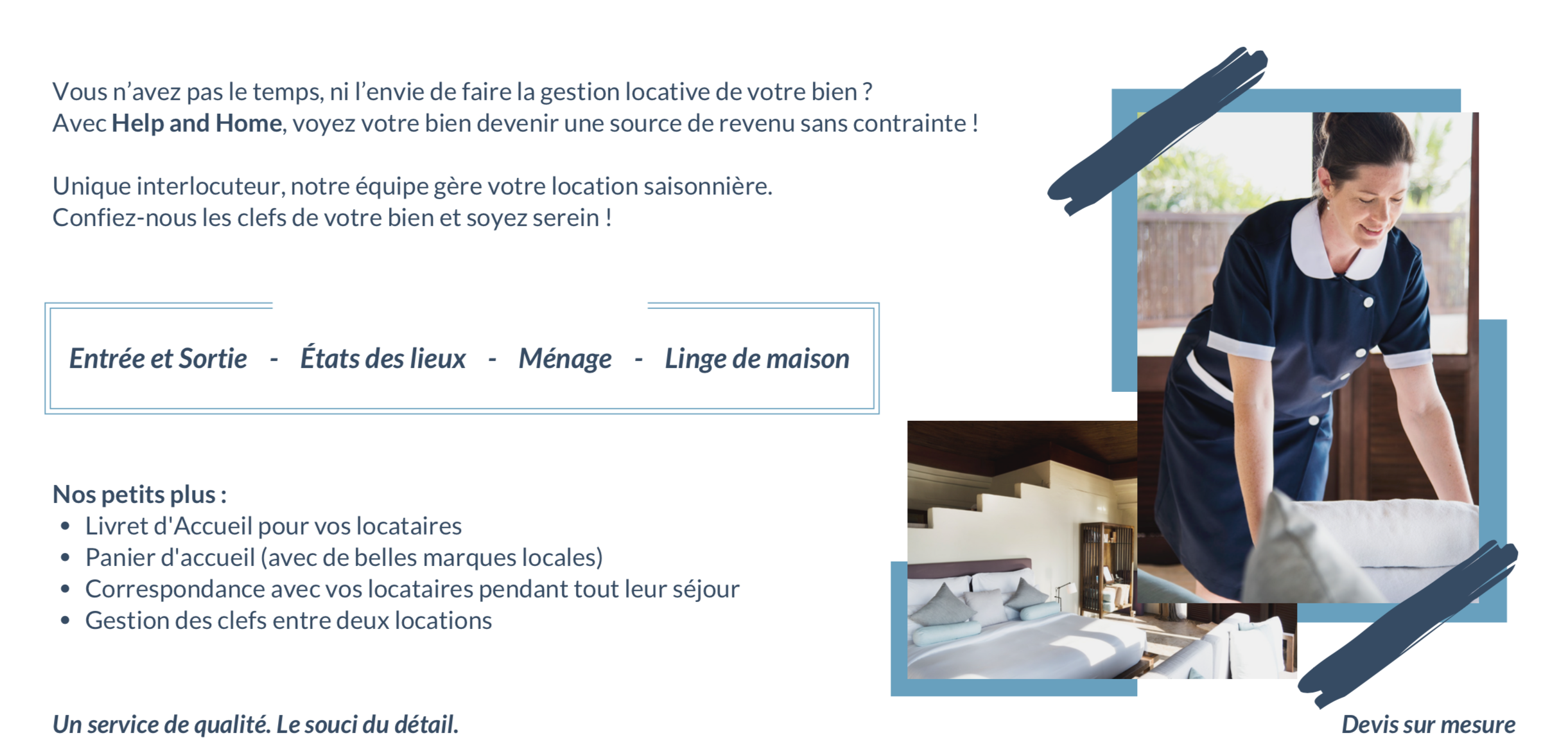 Help and Home - Service Propriétaire