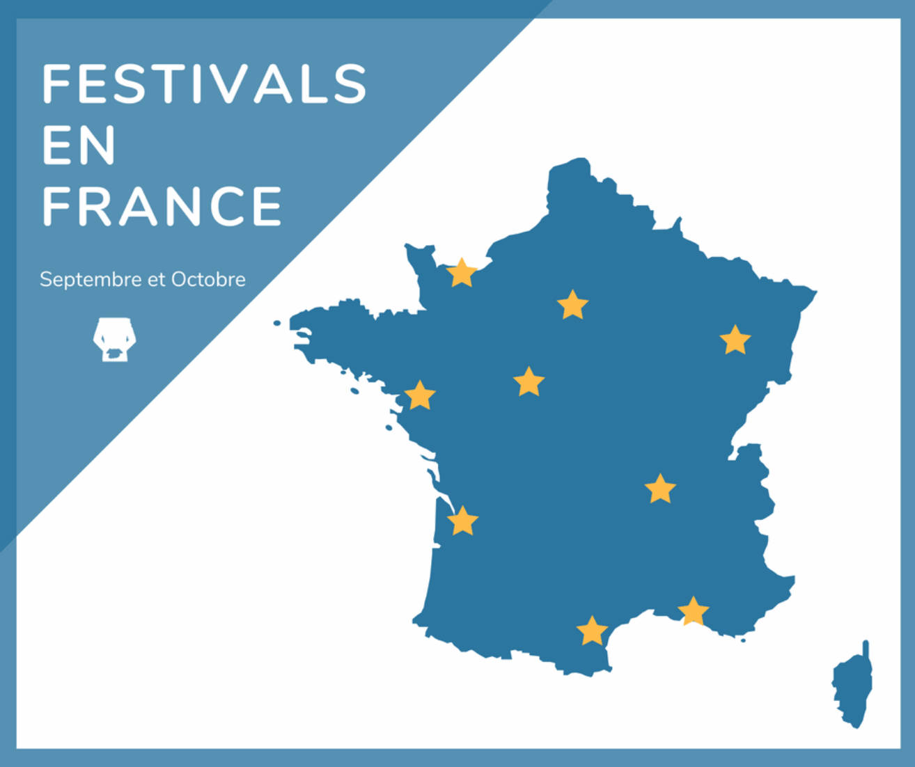 Help and Home - Carte festival France